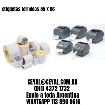 etiquetas termicas 55 x 66
