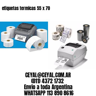 etiquetas termicas 55 x 70