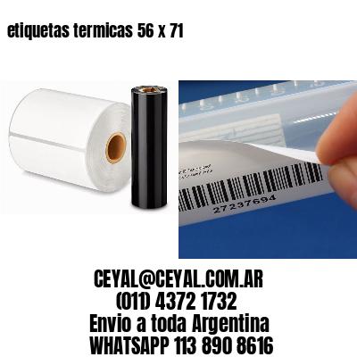 etiquetas termicas 56 x 71