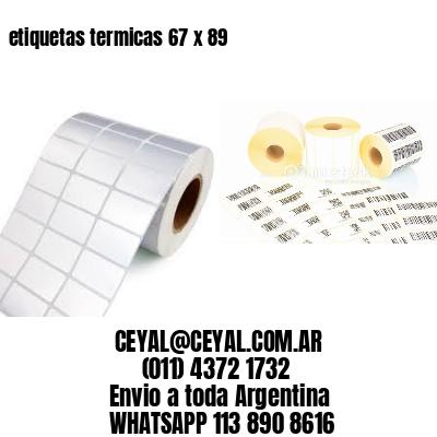 etiquetas termicas 67 x 89