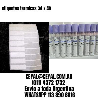 etiquetas termicas 34 x 40