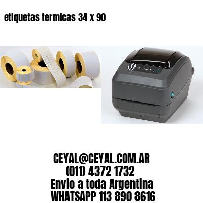 etiquetas termicas 34 x 90