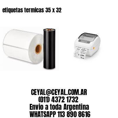 etiquetas termicas 35 x 32
