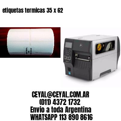 etiquetas termicas 35 x 62