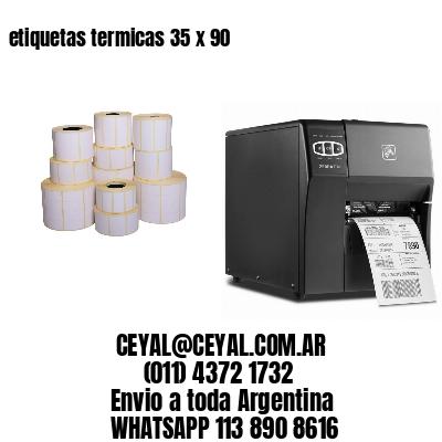 etiquetas termicas 35 x 90