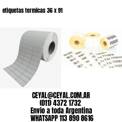 etiquetas termicas 36 x 91