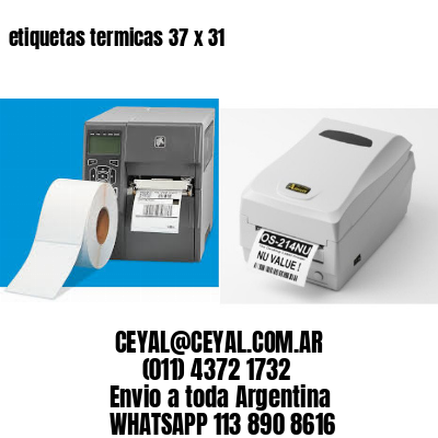 etiquetas termicas 37 x 31